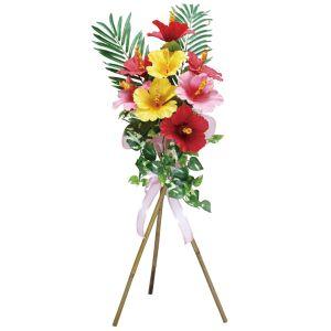 【夏装飾】立体スタンドニューハイビスカスイメージ