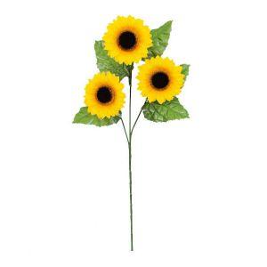 【夏装飾】スプレイスモールサンフラワー×3輪(36本セット)イメージ