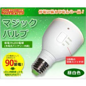 【LED】マジックバルブ(ラブロス)昼白色MB5W-Bイメージ