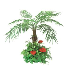 【フラワー装飾】島上用フェニックス グリーン植え込み 100cmイメージ