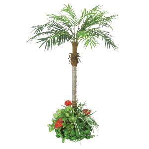 【フラワー装飾】フロア装飾フェニックス グリーン植え込み 160cmイメージ