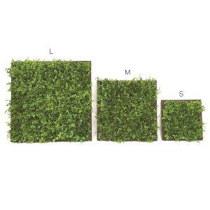 【フラワー装飾】壁面用ウッドフレームボード  ユーカリグリーンMイメージ