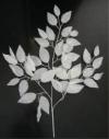 【冬装飾】ホワイトリーフスプレイneoイメージ1