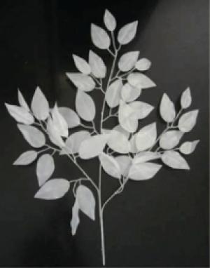 【冬装飾】ホワイトリーフスプレイneo(24本セット)イメージ
