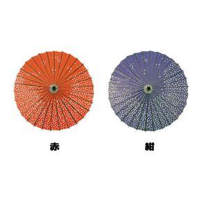 【春装飾】踊り傘 桜 (赤・紺)イメージ