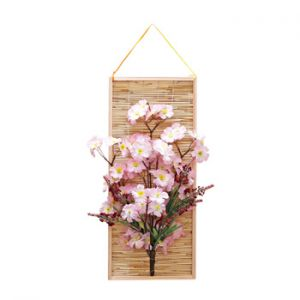 【春装飾】すだれ壁掛け桜イメージ