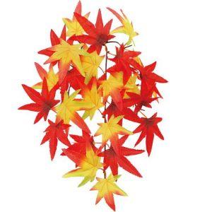 【秋装飾】スモールもみじバイン(12個セット)イメージ