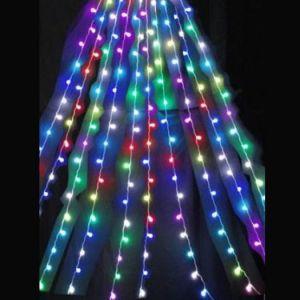【LED】LEDチェンジングドレーパーカーテン(5m)イメージ