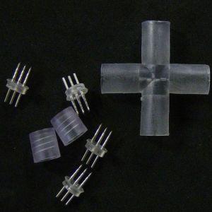 【LED】十字型ジョイントLED・電球・ロープライト用イメージ