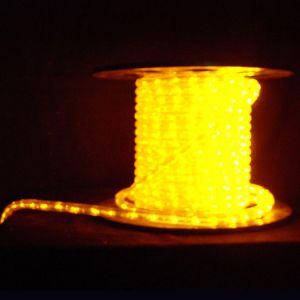 【LED】LEDロープライト(イエロー)イメージ