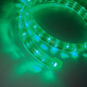 【LED】LED幅広ロープライト(グリーン)イメージ