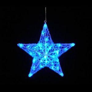 【LED】LEDクリスタルスター(ブルー)イメージ