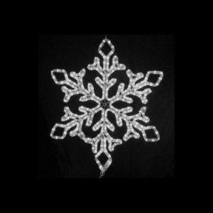 【LED】LEDスノーフレーク(ホワイト)イメージ