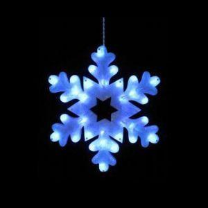 【LED】LEDステンドスノーフレーク アトランダムブルーイメージ