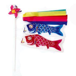 【こどもの日特集】鯉のぼりミニミニセット(24本セット)イメージ