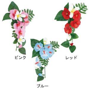 【夏装飾】ハンギングハイビスカス&プルメリア(12個セット)イメージ