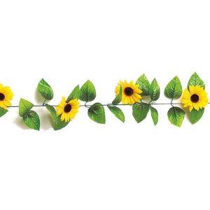 【夏装飾】ひまわりガーランド(12本セット)イメージ