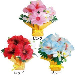 【夏装飾】スクエアポットハイビスカス(12個セット)イメージ