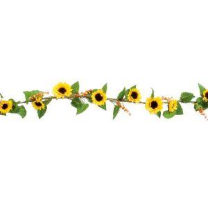 【夏装飾】ツイグガーランドヒマワリ(6本セット)イメージ
