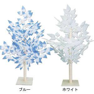 【冬装飾】リーフツリー(2個セット)@2,380円イメージ
