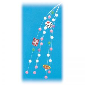 【お正月特集】シダレ イラスト餅花(10本セット)イメージ