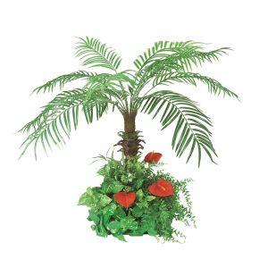 【フラワー装飾】フェニックス フロア装飾 グリーン植え込み 100cmイメージ