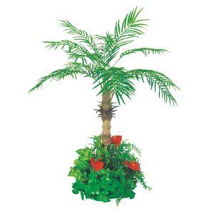 【フラワー装飾】フロア装飾 フェニックス グリーン植え込み 130cm イメージ