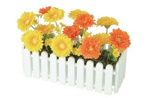 【フラワー装飾】ウインドウプランター ラブリーガーベライエローオレンジ(入れ替え用)イメージ