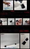 3mmアクリル板専用クリップ(10個セット・両面テープ付き)イメージ2
