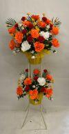 【フラワー装飾】開店祝い造花スタンド ローズ 数量限定サービス品イメージ
